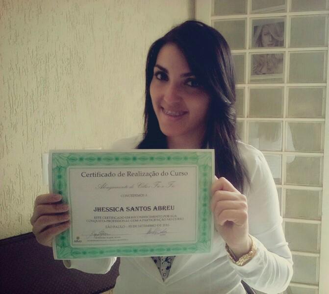 Certificado Curso de Alongamento de Cílios Fio a Fio Online