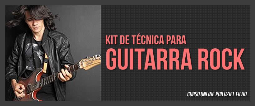 Curso online de Técnicas de Guitarra Rock