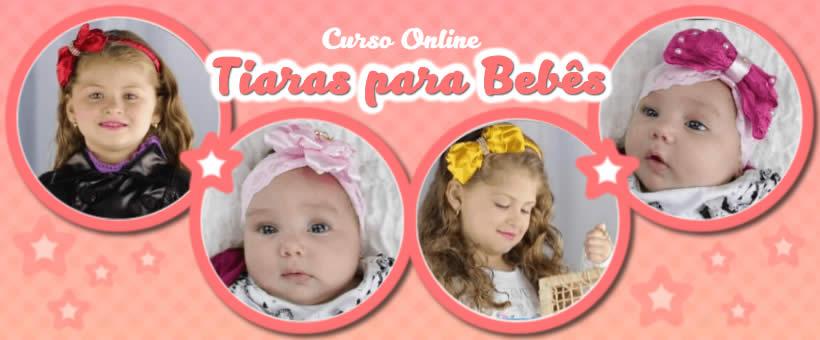 Curso de Tiaras para Bebês Online da Alessandra da Fontoura