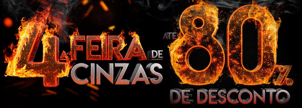 Quarta-feira de Cinzas Ricardo Eletro - Ofertas e Promoções