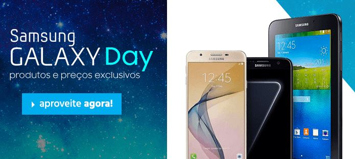 Samsung Galaxy Day no Submarino