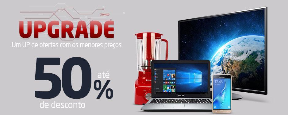 Upgrade Pontofrio: Ofertas c/até 50% de desconto