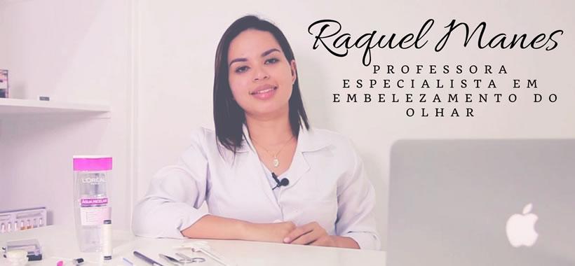 Curso Permanente de Cílios + Tintura - Raquel Manes