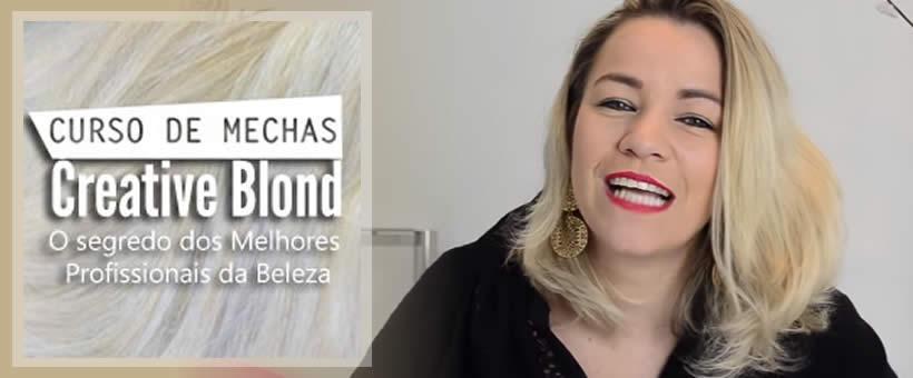 Curso de Mechas Creative Blond - Sany Dias
