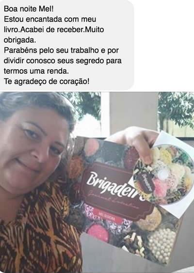 Depoimento curso de brigadeiro Mel Oliveira