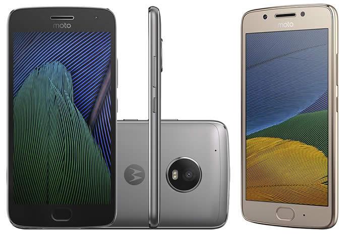 Promoção de Smartphone Moto G5 na Americanas