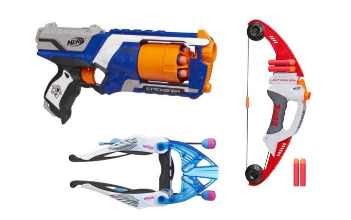 Brinquedos Nerf c/até 16% de desconto no Pontofrio