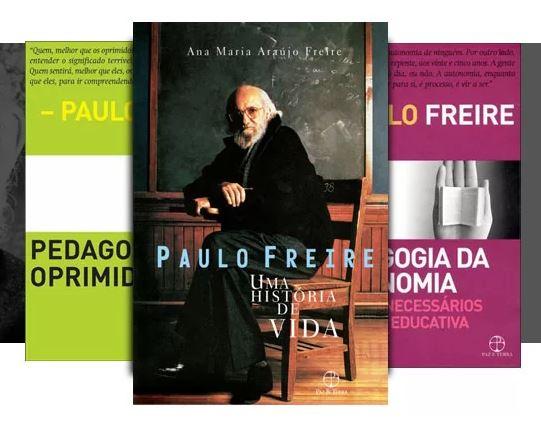 Livros do Paulao Freire c/até 30% de desconto na Saraiva