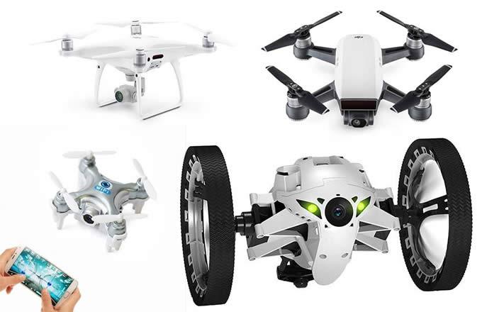 Drones a partir de 10% de desconto no Submarino