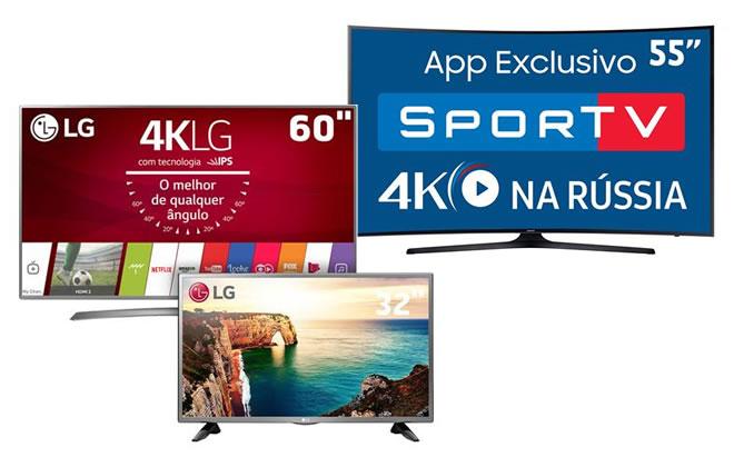 Smart TVs Ultra HD/4k ofertas e promoções no Extra
